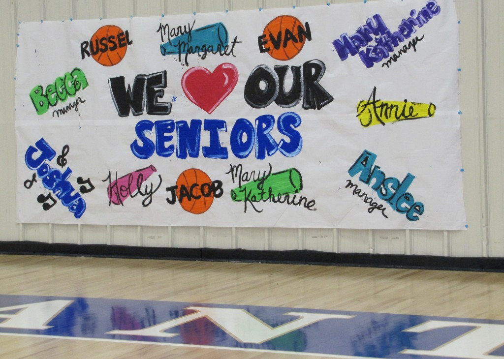 Senior Night at Covenant Academy
