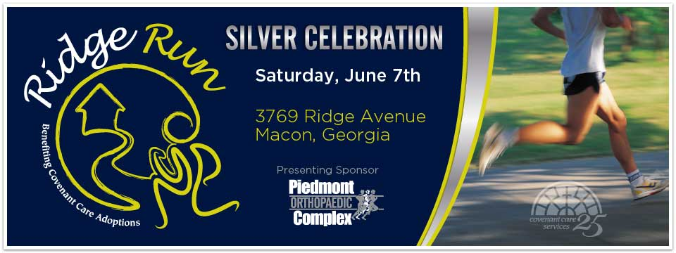 Ridge Run 5K Sponsored by Piedmont Orthopaedic Complex
