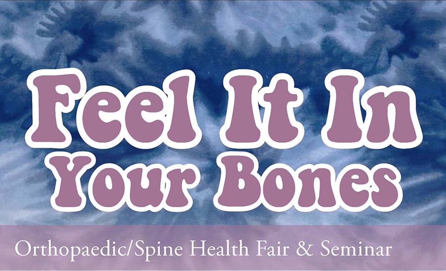 Feel it In Your Bones Health Fair